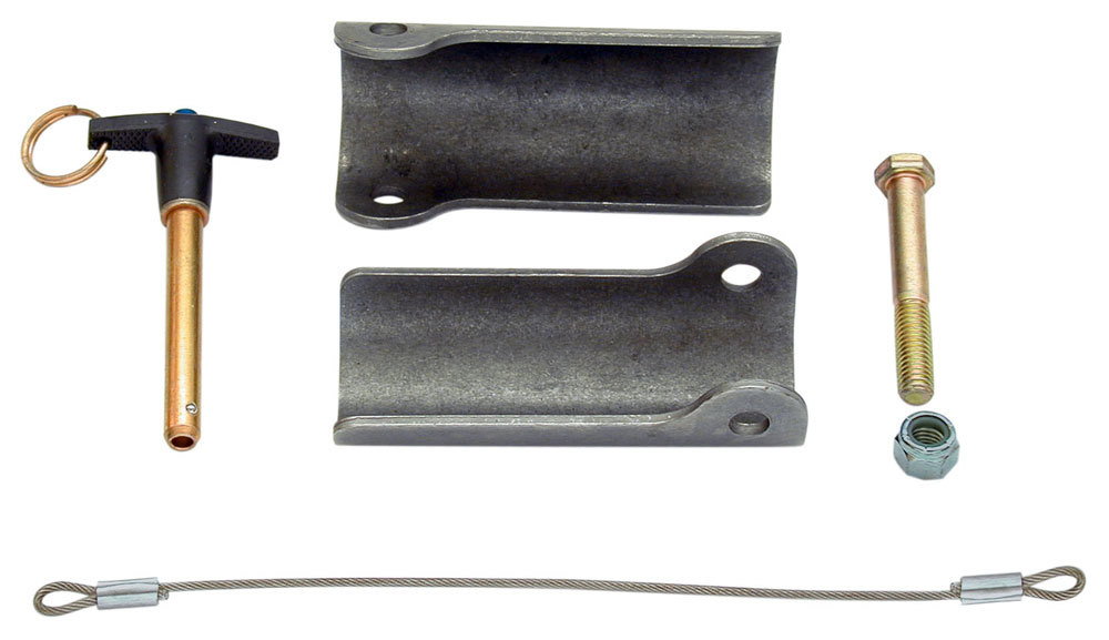Hose//Tube Separators Each 0.906 in // 0.906 in Holes Aluminum Stainless Hardware Black Anodize