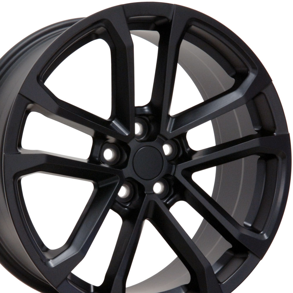 "Chevrolet Camaro ZL1 2010-2019 20"" CV19 Wheel fits Camaro Satin Black Finish 20""x8.5"""