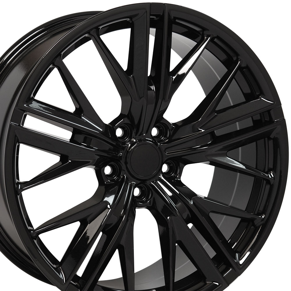 "Chevrolet Camaro 2010-2019 20"" ZL1 Style Wheel fits Camaro Gloss Black Finish 20""x8.5"""