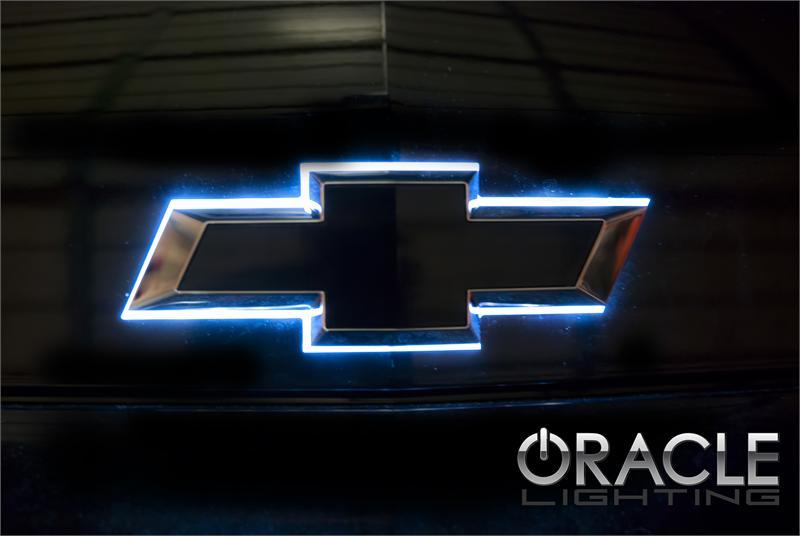 2010 14 Chevrolet Camaro Custom Led Lighted Rear Bowtie Emblem