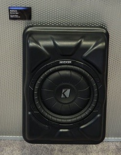 Camaro 2010+ GM Kicker Box Subwoofer Speaker System addon