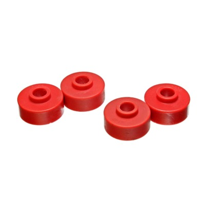C5 Corvette 1997-2004 Engergy Suspension RED Rear Spring Cushions, Poly Bushings, Set of 4