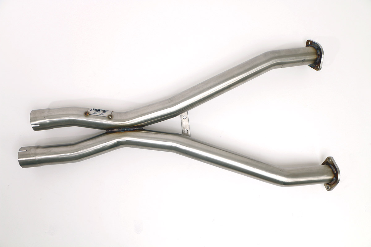 Chevy C5 Corvette X-Pipe 2.5 in. Billy Boat Exhaust X-Pipe 2.5 in.