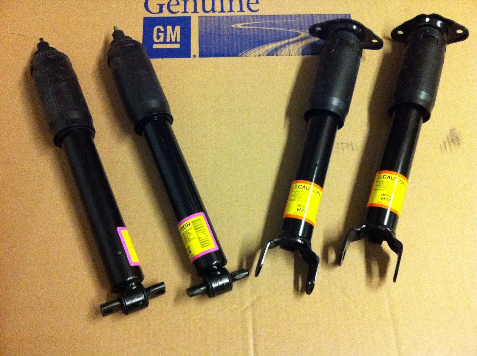 C5 Corvette All and C6 Z06 Front Shock Suspension Replacement or Upgrade, Single
