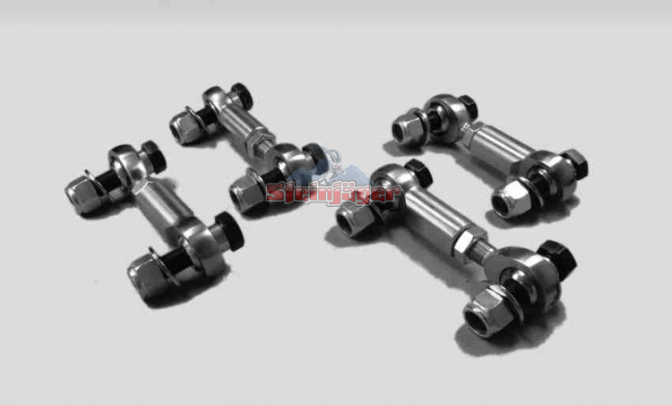 Corvette C5 and C6 1997-2013, Heavy Duty Front and Rear Sway Bar End Links