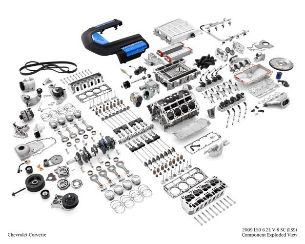 Gm Oem Ls9 Corvette Crate Complete Engine 6 2l