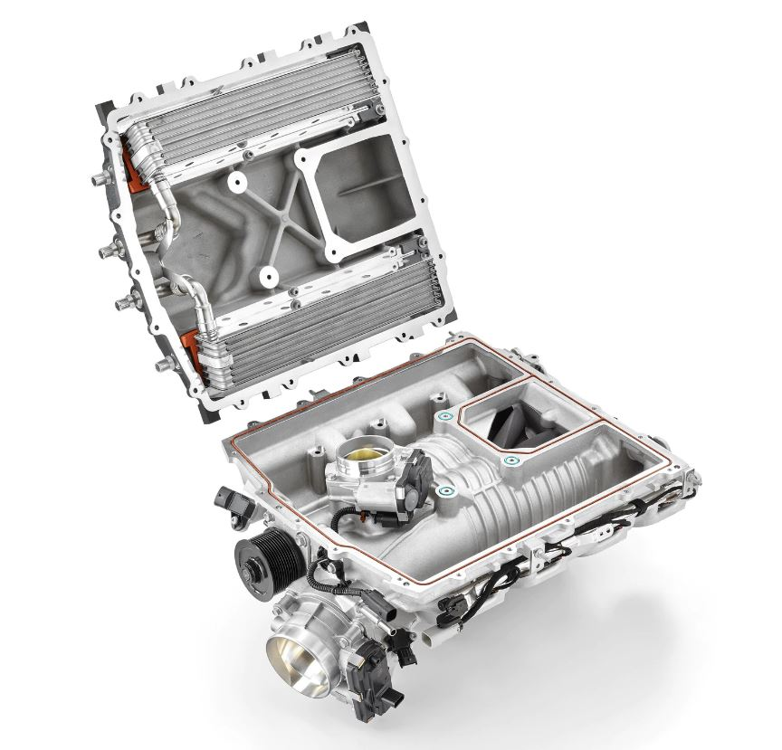 C7 Corvette ZR1 and others, LT5 CNC Port LT5 Supercharger Head Unit and 115mm Throttle Body