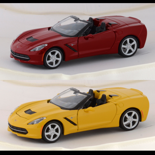2014 1:24th Scale Corvette Stingray Convertible Diecast - By MAISTO