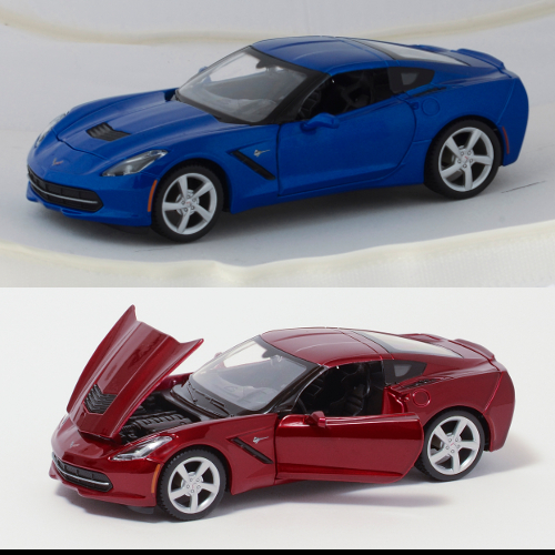 2014 1:18th Scale Corvette Stingray Coupe Diecast - By MAISTO