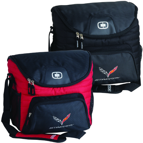 C7 Logo Stingray Corvette Ogio 18-24 Can Cooler and Storage bag