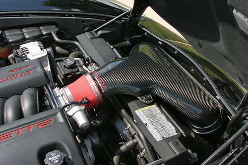C6 Corvette MAMBA Cold Air Intake Carbon Fiber System
