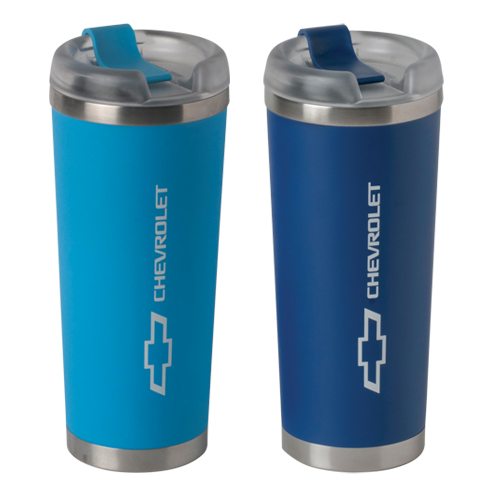 Chevrolet Bowtie Logo BROOKLYN 24 oz. Double Wall Stainless Steel Tumbler with  vacuum insulation