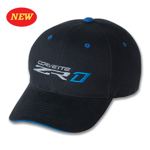 C7 Corvette 2019 C7 ZR1 Supercharged Structured Two Tone Hat / Cap