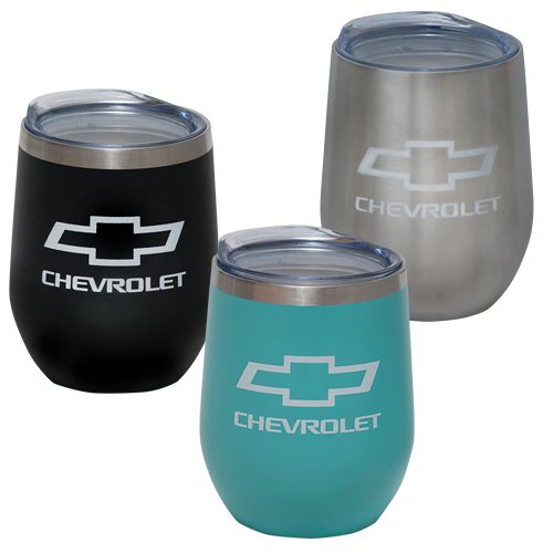 Chevrolet Bowtie Logo 12 Oz. CECE Travel Thermal Stainless Steel Mug Tumbler