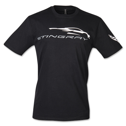 C8 Corvette, Mens Next Generation C8 Corvette GESTURE Stingray Tee, T-shirt