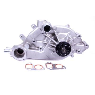 GM F-Body / Corvette, Water Pump, Mechanical, High Performance, 3/4 in Shaft, Pump Only, Aluminum, Natural, GM LS-Series