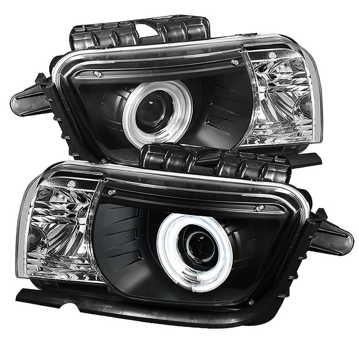 Camaro 2010+ Projector Headlight Pair with 35w HID Kit Upgrade