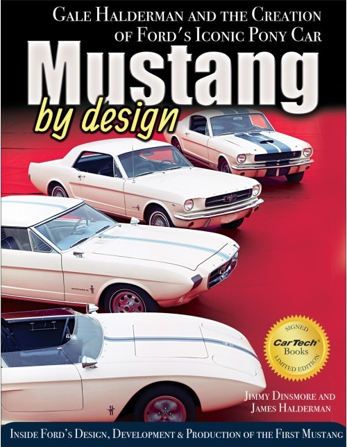 Book, Mustang By Design Creation Of Iconic Pony Car, 176 Pages, Hardcover, Each