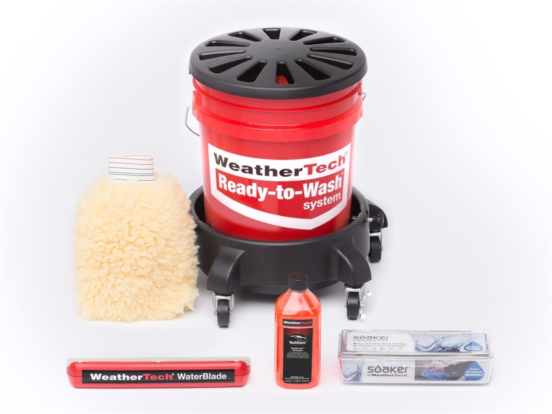 Ulitmate Car Care, Weathertech Bucket, Grit Guard, Wash Mit, Water Blade, Drying Cloth, Mothers Gold Car Wash