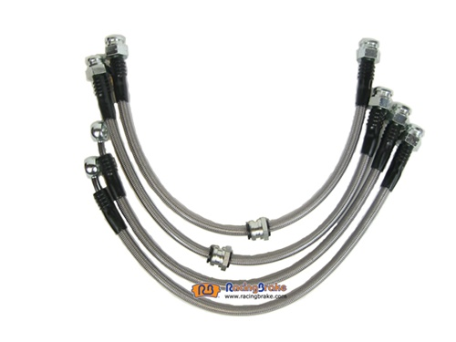 Racing Brake Stainless Steel Brake Lines - C6/Z06 and Grand Sport Corvette (excl. std C6) 06-12