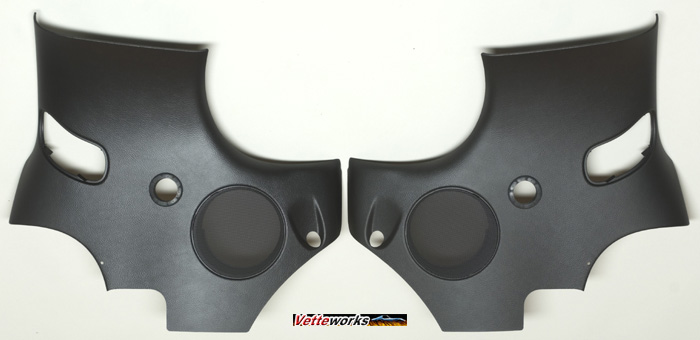 Corvette C6 & Z06, GS, ZR1 Sharkbar Harness Bar  Pre-Cut Quarter Panels Only