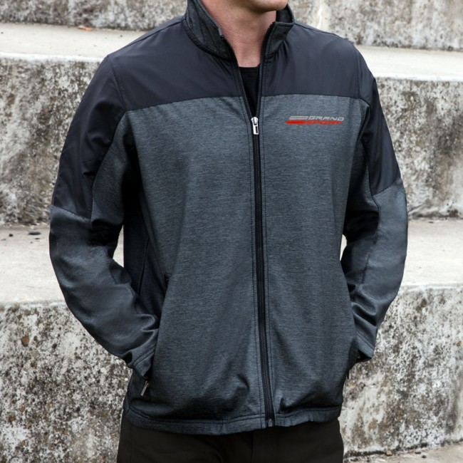 Corvette C7 Grand Sport Outlook Jacket  - Charcoal / Black