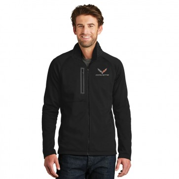 Corvette C7 North Face � Corvette Fleece Jacket - Black