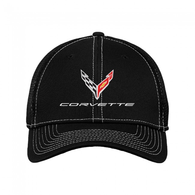 C8 Corvette, Next Generation Corvette New Era� Stretch-Mesh Cap