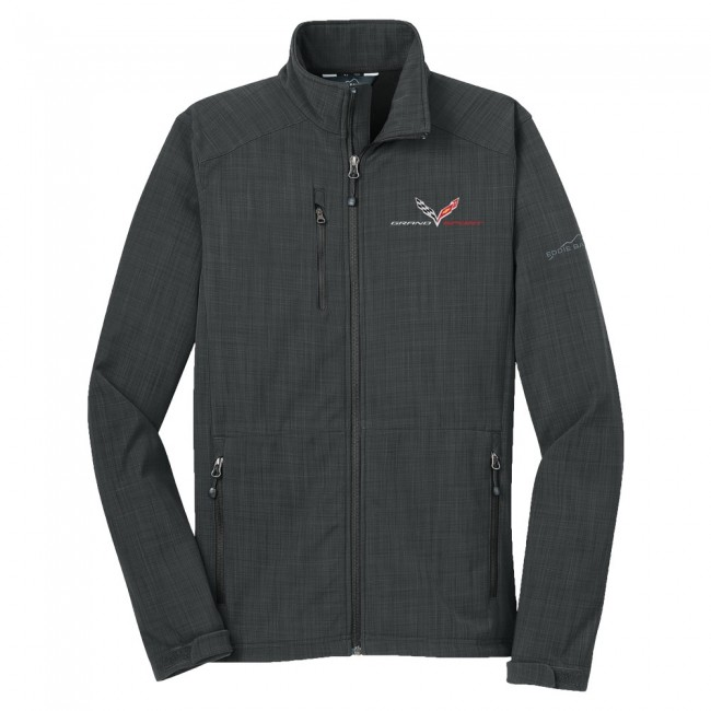 Corvette C7 Grand Sport Logo Eddie Bauer� Grand Sport Soft Shell - Gray