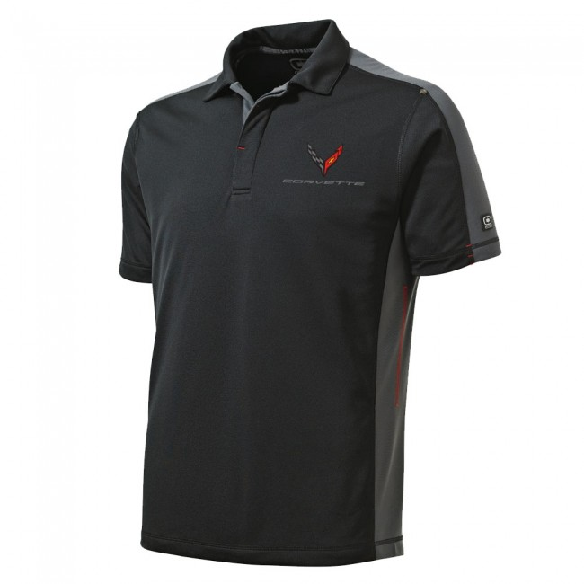 C8 Corvette, Next Generation Corvette Men's Contrast Ogio� Polo