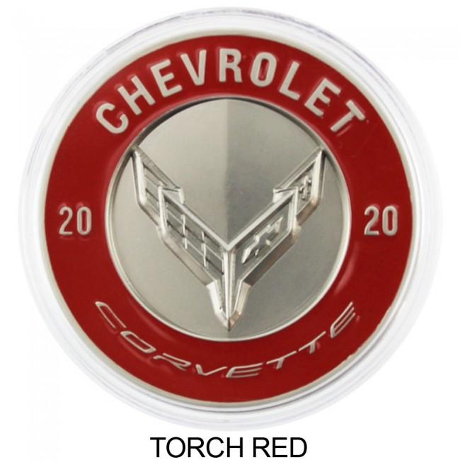 Chevrolet C6 Corvette Z06 Black Emblems Set Gloss or Matte Finish OEM Emblem