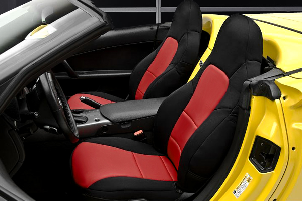 C7 Corvette 2014-2019 Neoprene, NeoSupreme Seat Covers, Solid or Two Tone, Coverking, w/ Competition Seats
