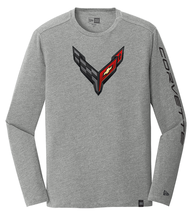 C8 Corvette Next Generation Carbon Flash T-Shirt Large, White