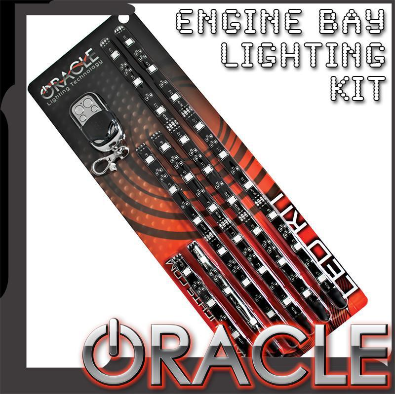 ORACLE Engine Bay LED Lighting Kit with Wireless Remote, Corvette, Camaro and Others