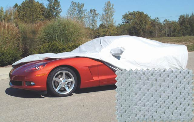 Covercraft EVOLUTION 4 Gray Car Cover C6/Z06, Grand Sport, ZR1 Corvette