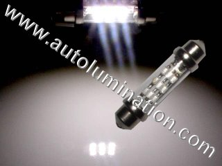 C5 and C6, Z06 Corvette LED High Powered 9 LED SMT Festoon 212-2