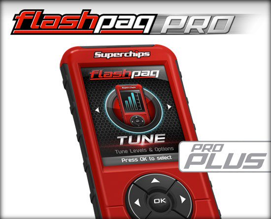 SUPERCHIPS FLASHPAQ PRO Programmer/Tuner, Diesel / Gas, GM 1999-2018, Corvette C5, C6, C7 and Camaro