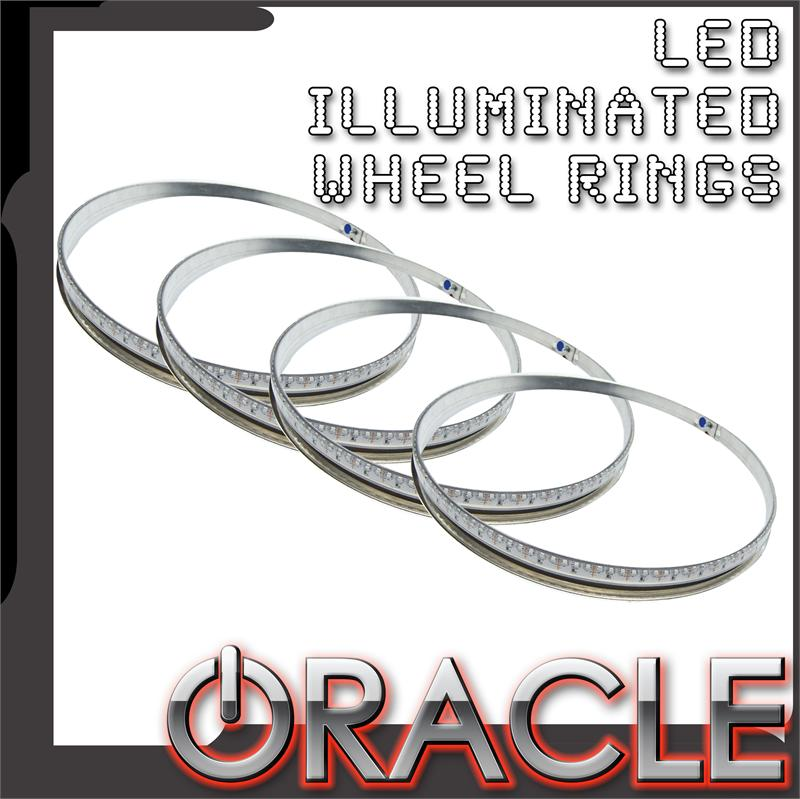 1997-2015 C5, C6, C7 Corvette LED ORACLE LED Illuminated Wheel Rings