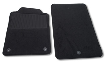 C6 Corvette 2005-2007 GM Replacement Floor Mats, C6 Corvette, OEM GM Accessory