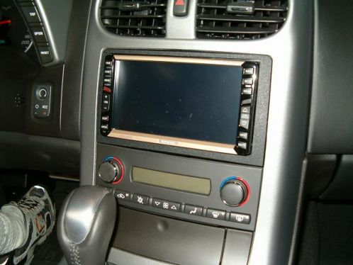 Navigation C6 Corvette Double Din Installation Kit