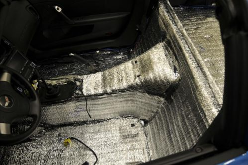 C6 Corvette Pre-Cut Sound Deadening and Heat Insulation Package