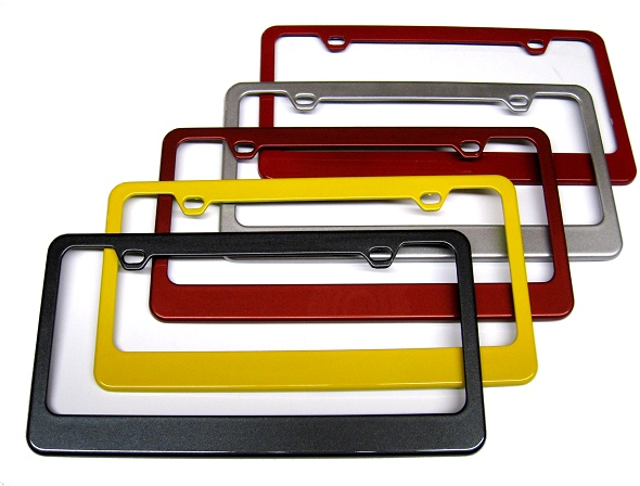 2d582ddaa84 Custom Painted C6 Corvette Body Colored Rear License Plate Frames