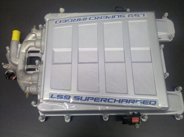 GM Performance Parts LS9 Supercharger for LS3 C6 Corvette
