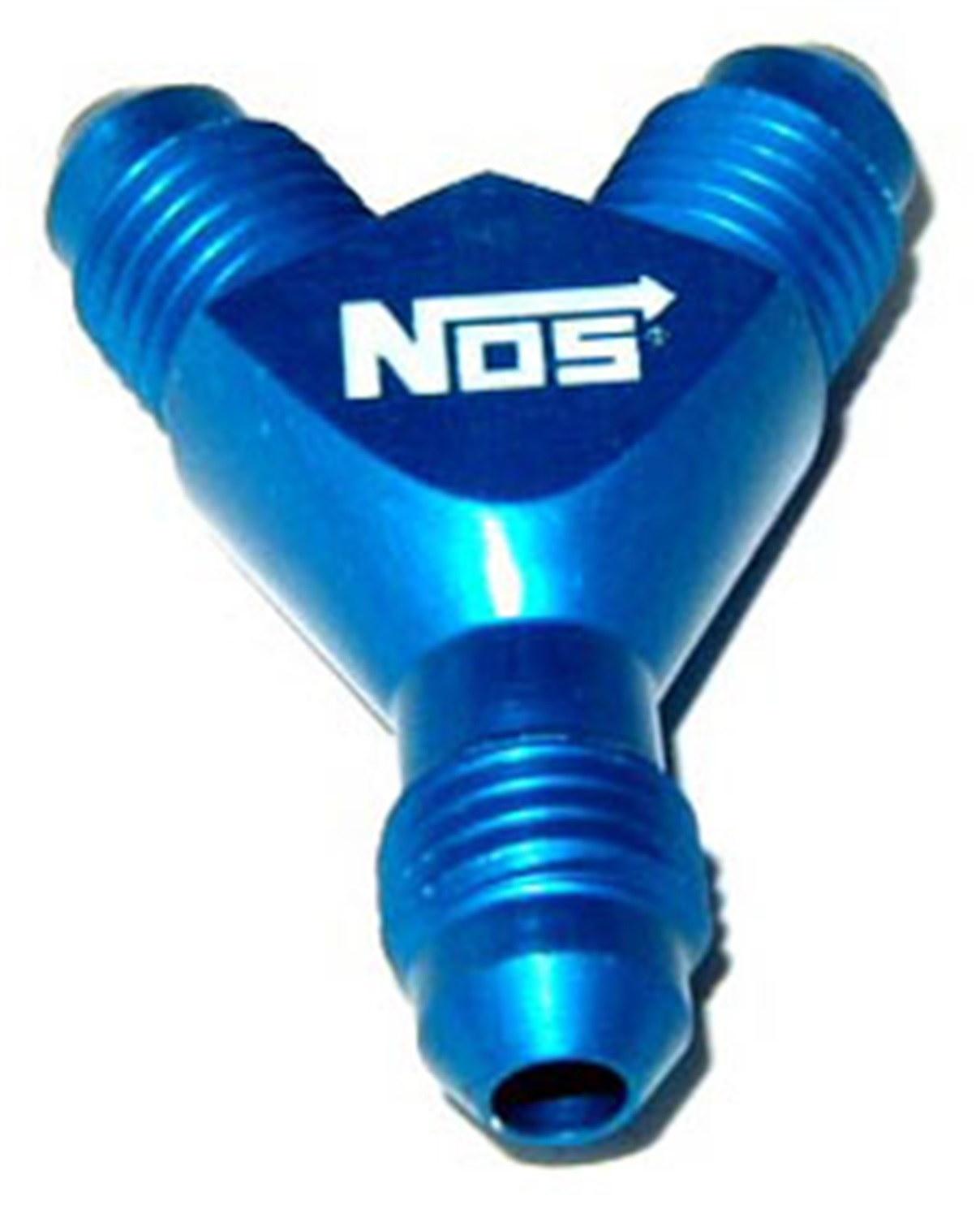 Nitrous Outlet Y Distribution Block with 4an Fittings
