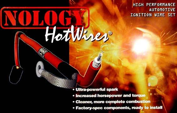 Nology HotWires spark plug wires set C6 Corvette Performance