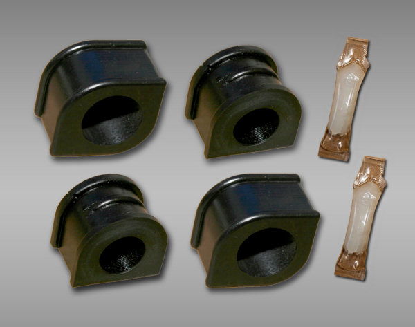 Pfadt C6 Corvette Z51 Poly Sway Bar Bushings Kit