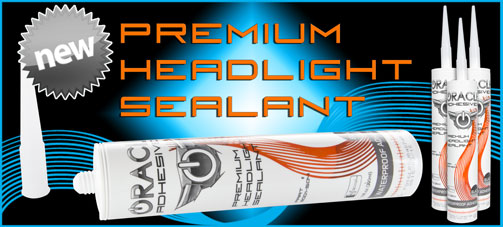 ORACLE Premium Headlight Sealant 10fl oz. Tube, C6 Corvette Headlight Lens Adhesive