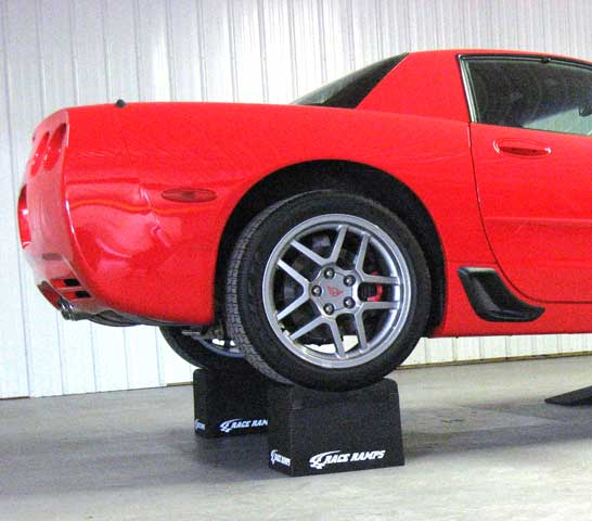 "10"" Race Ramp Wheel Cribs - Set Of 2 Corvette"