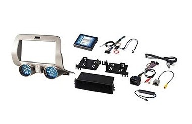 2010-2015 Chevrolet Camaro ALL Models Integrated Radio Replacement Kit
