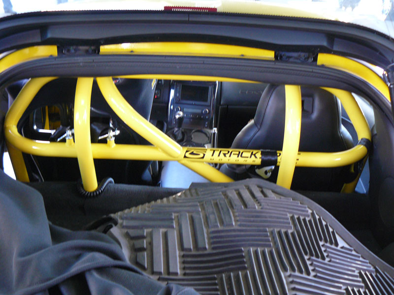 C6 or C6/Z06, GS, ZR1 S Corvette 4-Point Chassis Roll Bar w/Standard Coatings